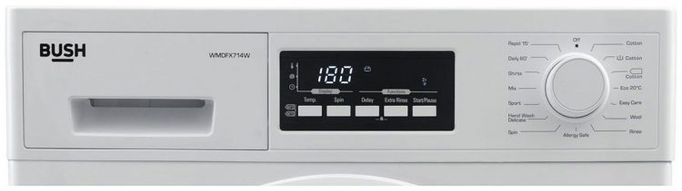 Bush WMDFX714W display panel and buttons
