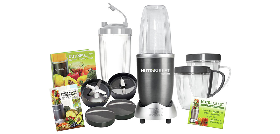 What is included with the Nutribullet 600