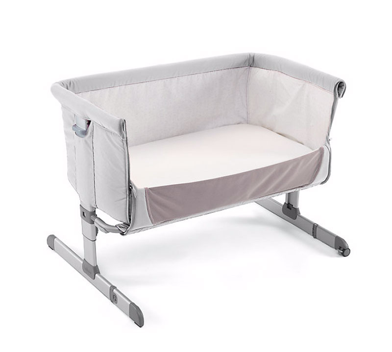 Chicco next 2 me crib with side removed
